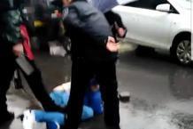 吉安男子持刀傷人11受傷,目擊者擒兇者敘說事發情況
