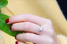 【Derier蒂爵印记婚戒定制】左手中指与右手中指