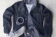 【复古潮流】外套+卫衣,这样穿衣服会很帅