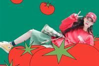 【水栀子】宋妍霏新彩色系果蔬穿搭,满满的少女感!