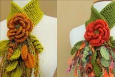 【夏河颜】分享几十款精致的针织首饰、装饰品,款款时