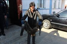 #内蒙古新闻网-呼和浩特#民警联合热心牧民救助一级保护动物金雕